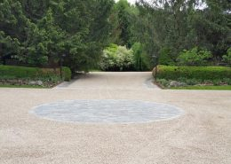 oil and stone paving